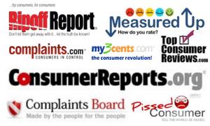 consumer complaint sites